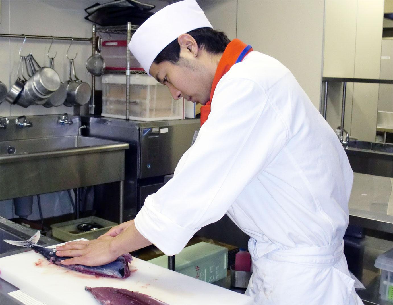 調理師養成科のポイント