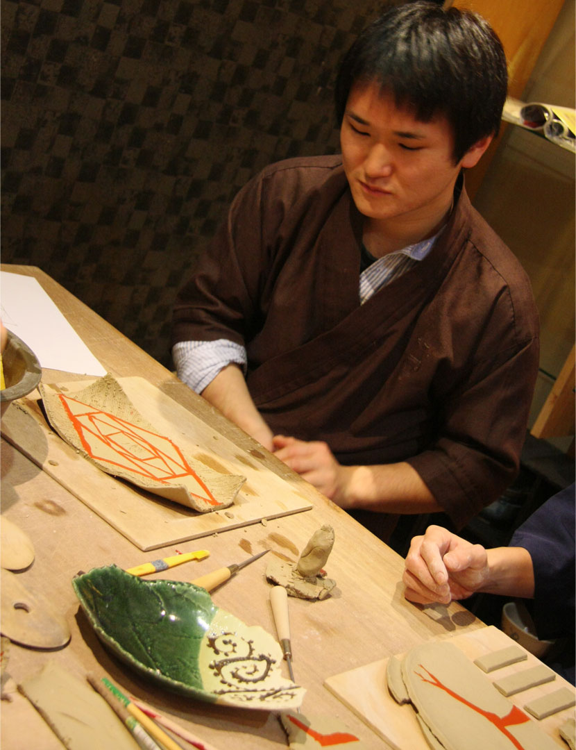 陶芸を学ぶ
